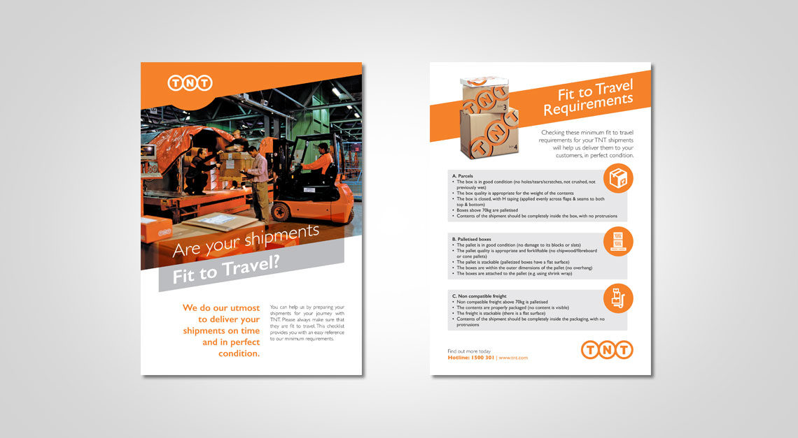 TNT New Brochure & Flyer