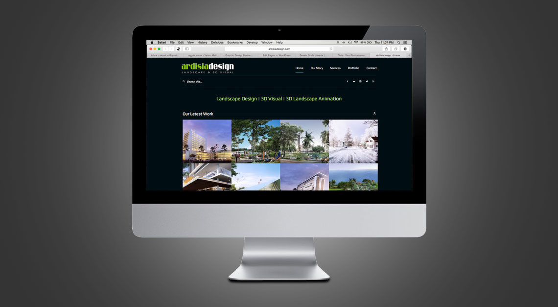 Ardisiadesign Portfolio Website